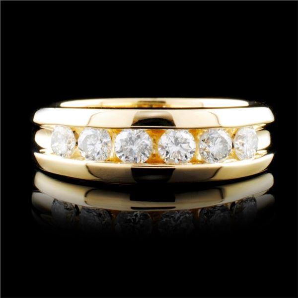 14K Gold 0.92ctw Diamond Ring