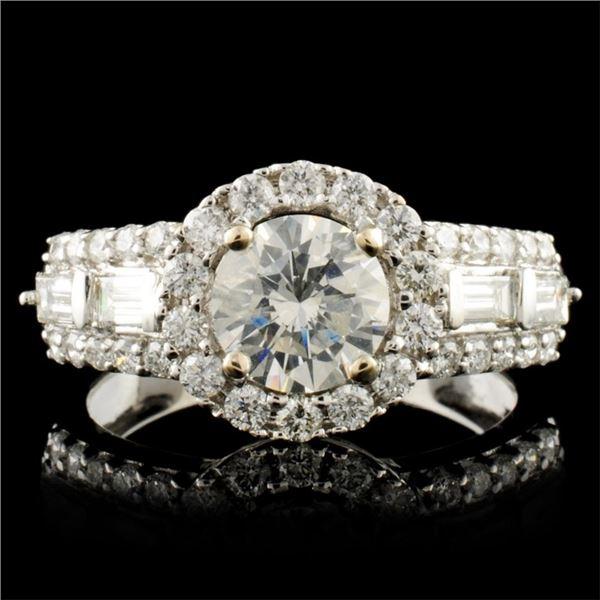 18K Gold 1.68ctw Diamond Ring