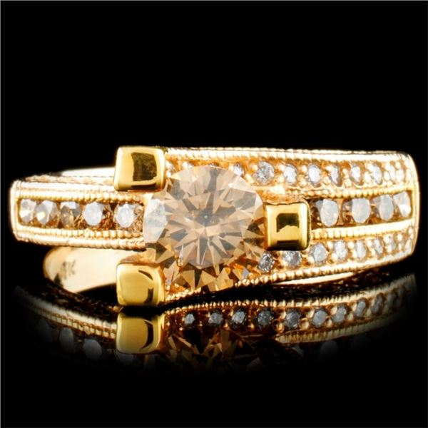 14K Gold 1.72ctw Diamond Ring