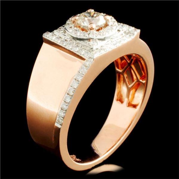 14K Gold 1.09ctw Diamond Ring