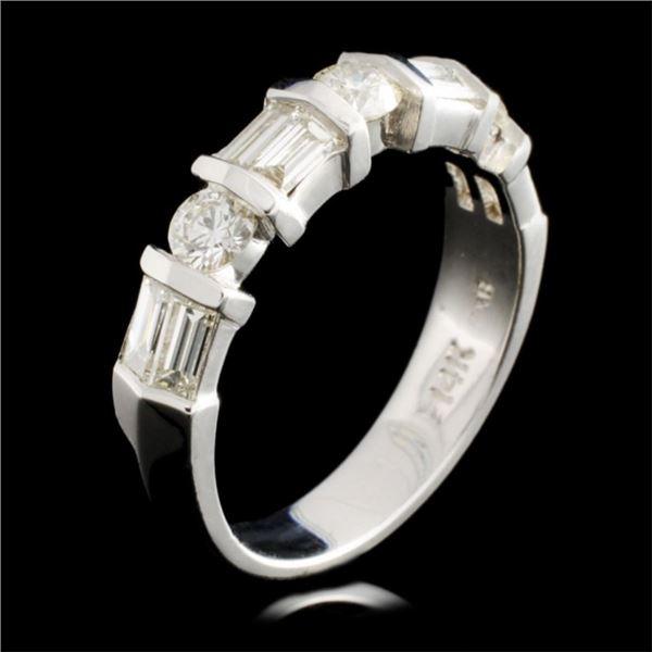 14K Gold 1.03ctw Diamond Ring