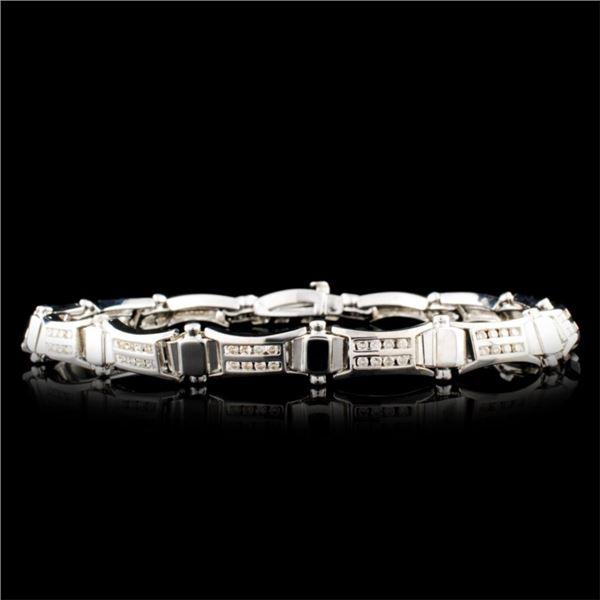 14K Gold 1.56ctw Diamond Bracelet