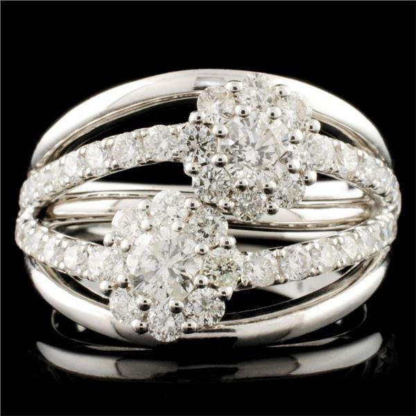 14K Gold 1.48ctw Diamond Ring