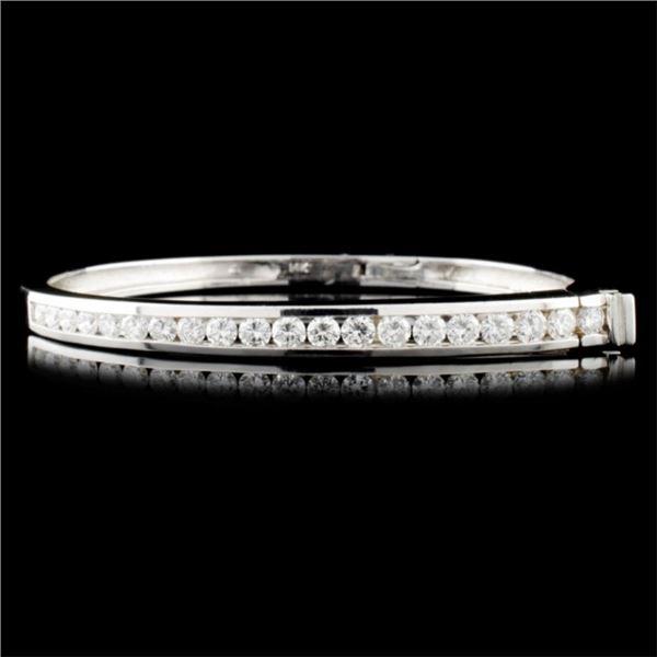 14K Gold 2.68ctw Diamond Bracelet