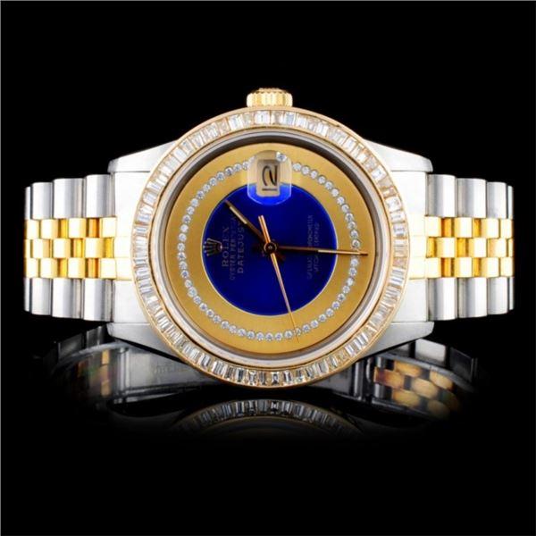 Rolex DateJust Diamond 36mm Watch