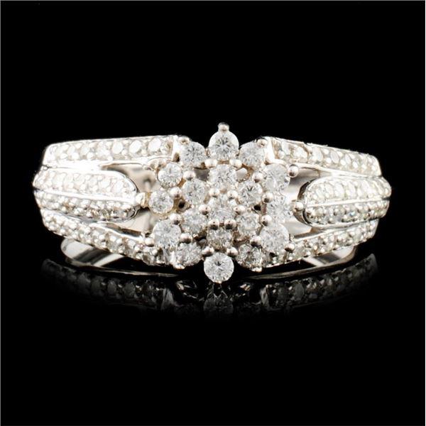 14K Gold 0.63ctw Diamond Ring