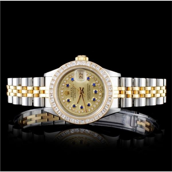 Rolex YG/SS DateJust 1.50ct Diamond 26MM Watch