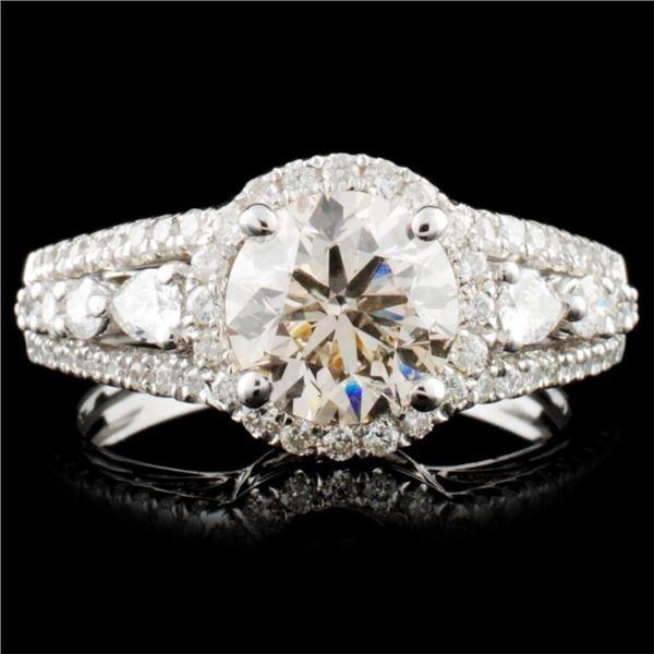 18K Gold 2.13ctw Diamond Ring