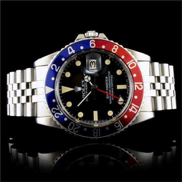 """Rolex GMT-Master Jubilee Vintage """"Pepsi"""" Watch"""