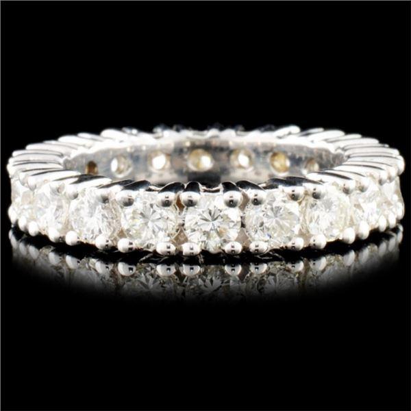 18K Gold 2.50ctw Diamond Eternity Ring