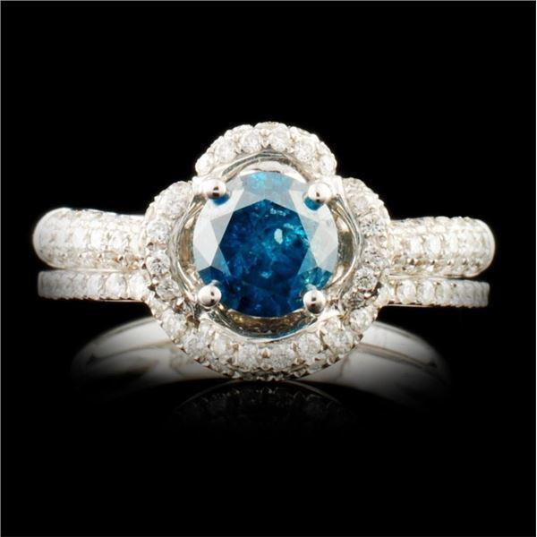14K Gold 1.38ctw Diamond Ring