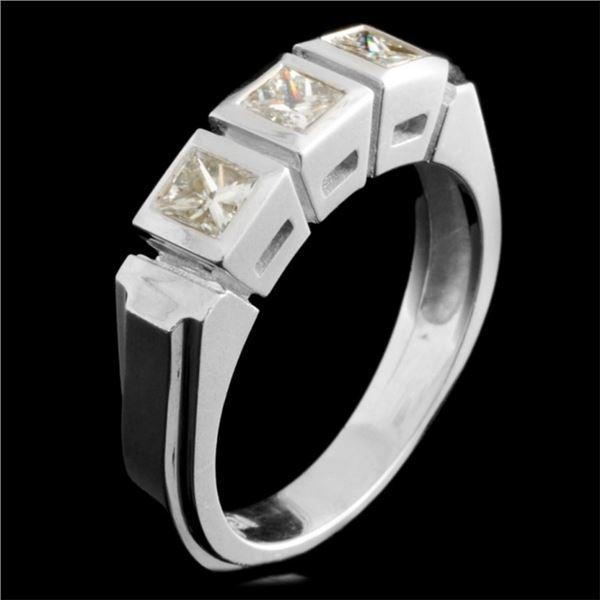 18K Gold 0.65ctw Diamond Ring