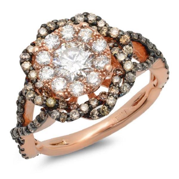 14K Gold 1.70ctw Diamond Ring