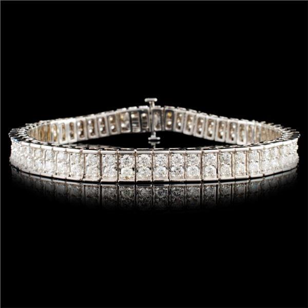 14K Gold 4.61ctw Diamond Bracelet