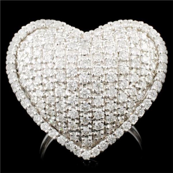 18K Gold 1.57ctw Diamond Ring