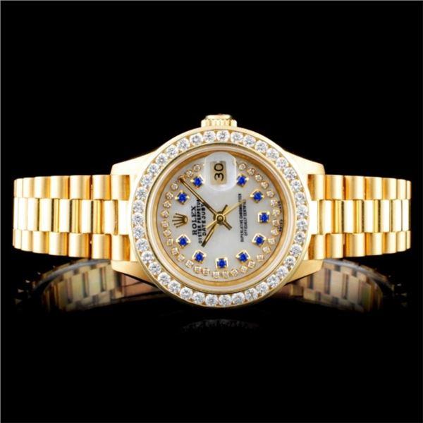 Rolex Presidential 1.50ct Diamond Ladies Watch