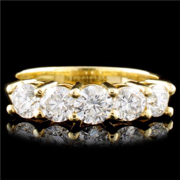 14K Gold 1.49ctw Diamond Ring