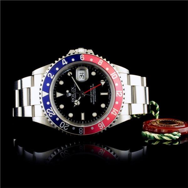 Rolex GMT-Master II Pepsi Stainless Steel Watch