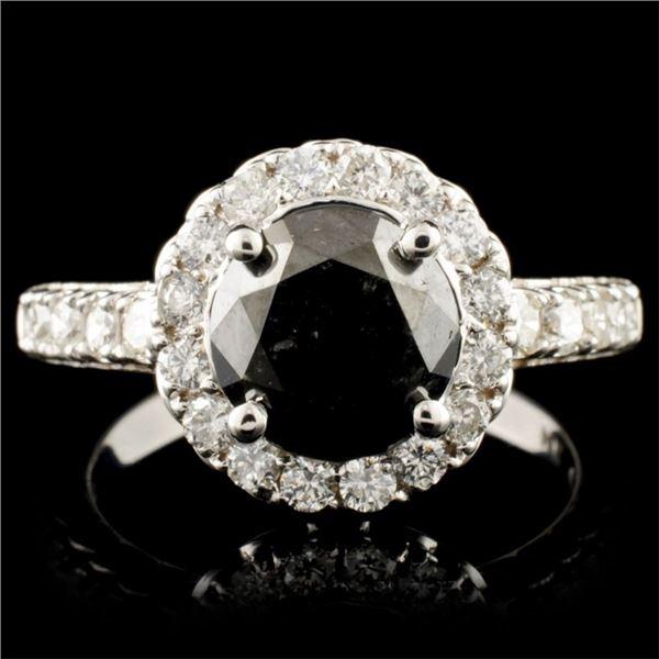 14K Gold 4.15ctw Diamond Ring