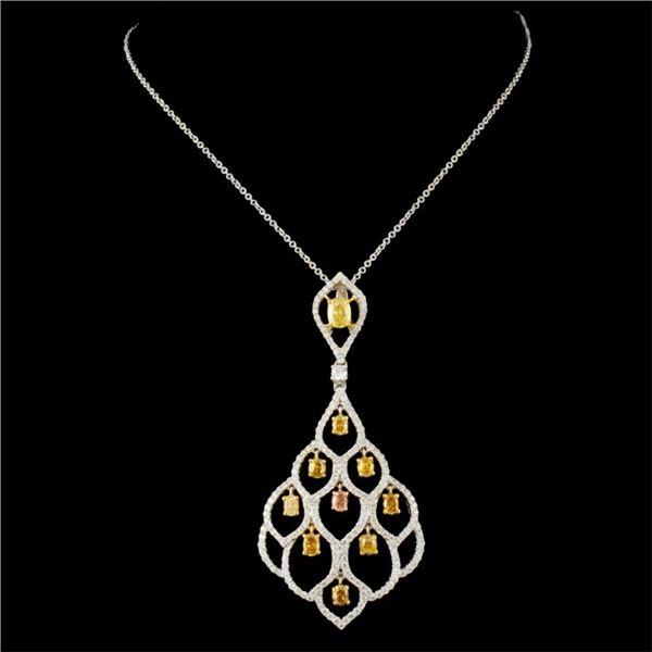 18K Gold 2.16ctw Diamond Pendant