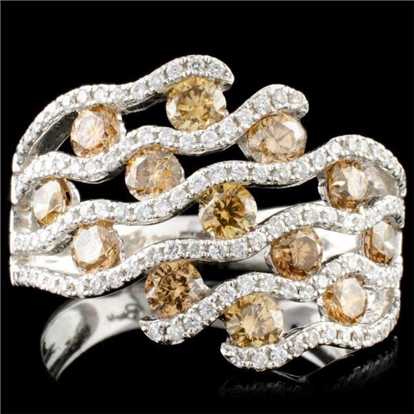 14K Gold 1.57ctw Diamond Ring