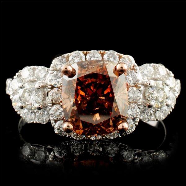 18K Gold 3.04ctw Diamond Ring