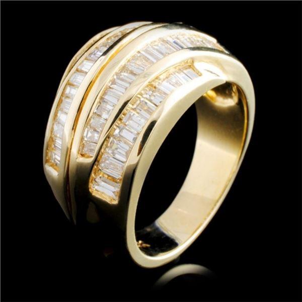 14K Gold 1.68ctw Diamond Ring