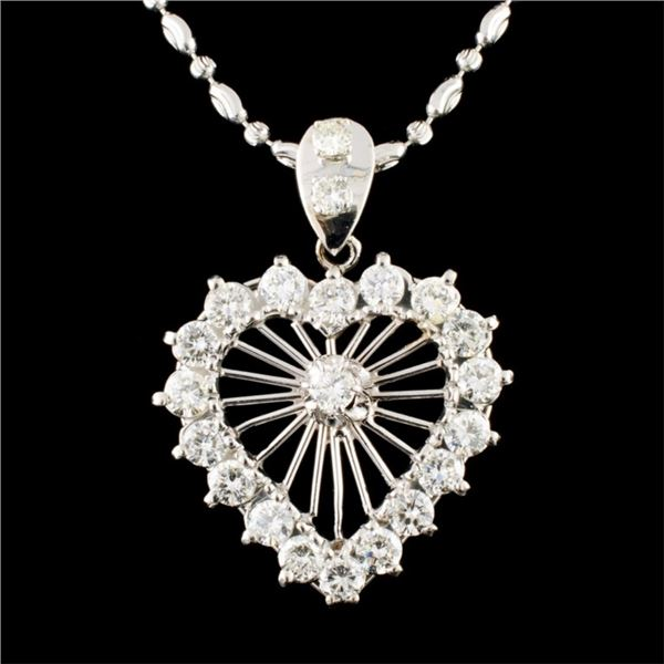 18K Gold 3.29ctw Diamond Necklace