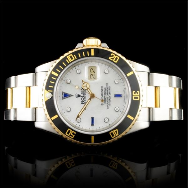Rolex Submariner YG/SS 40MM Wristwatch