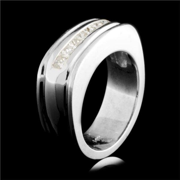 14K Gold 0.86ct Diamond Ring
