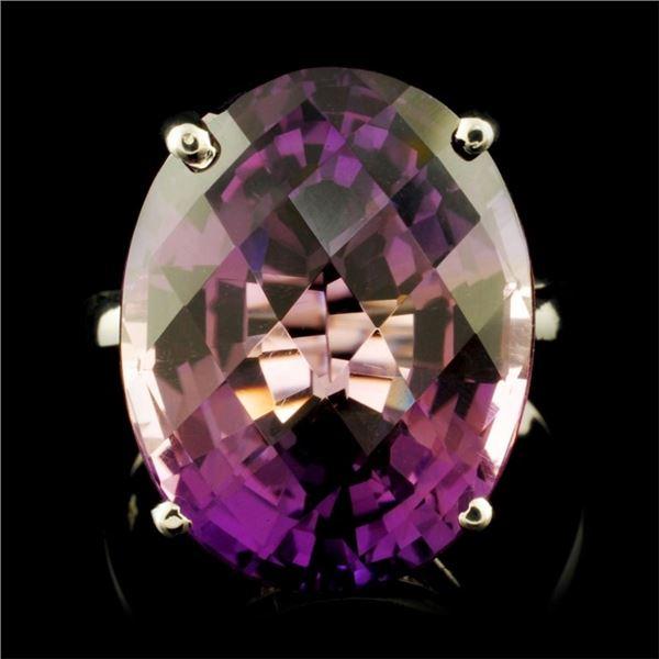 14K Gold 15.00ct Amethyst Ring