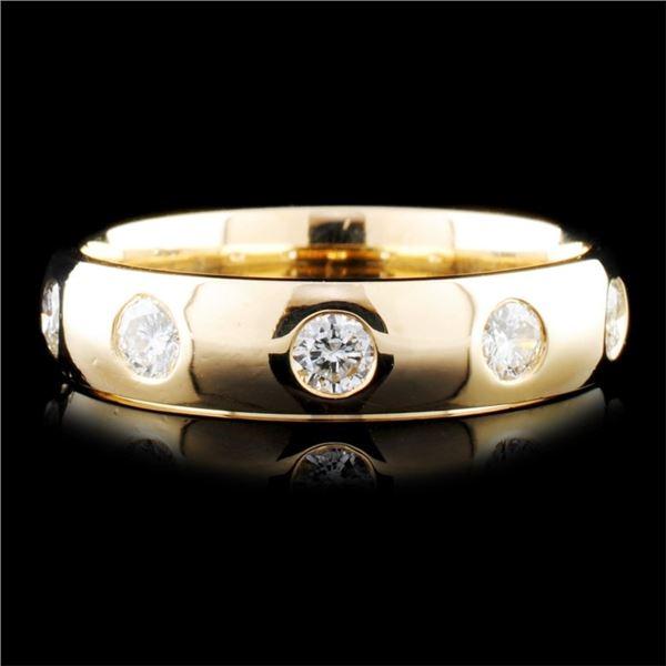 14K Gold 0.45ctw Diamond Ring