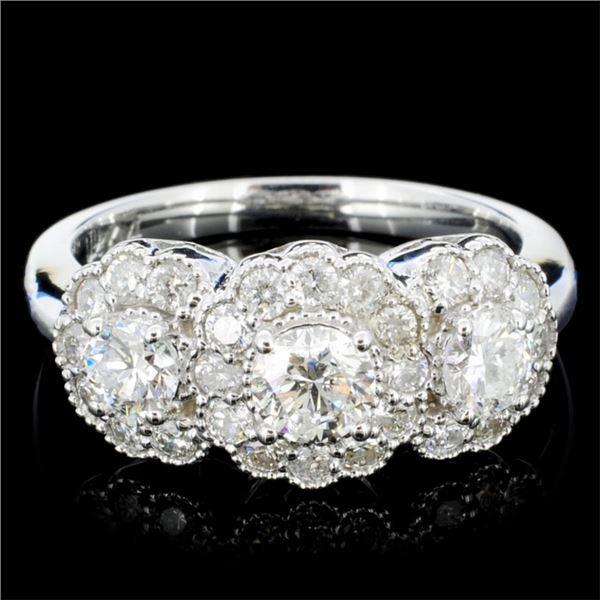 14K Gold 1.20ctw Diamond Ring