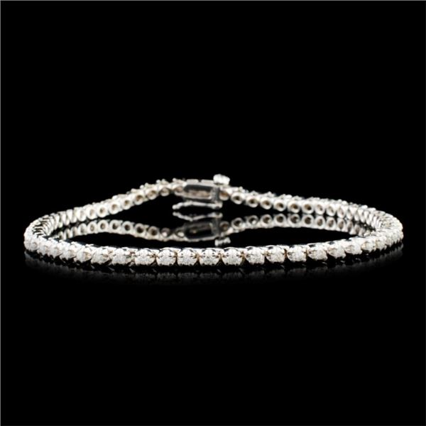 14K Gold 0.44ctw Diamond Bracelet