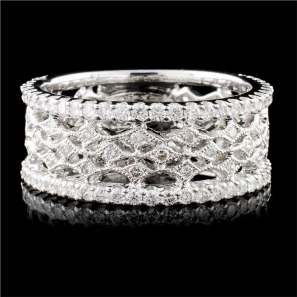 18K White Gold 0.95ct Diamond Ring