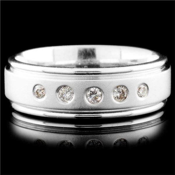 14K Gold 0.24ctw Diamond Ring