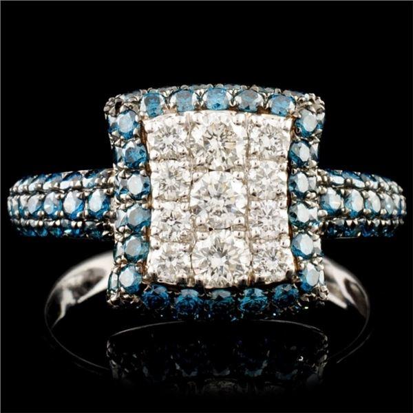 14K Gold 1.54ctw Diamond Ring