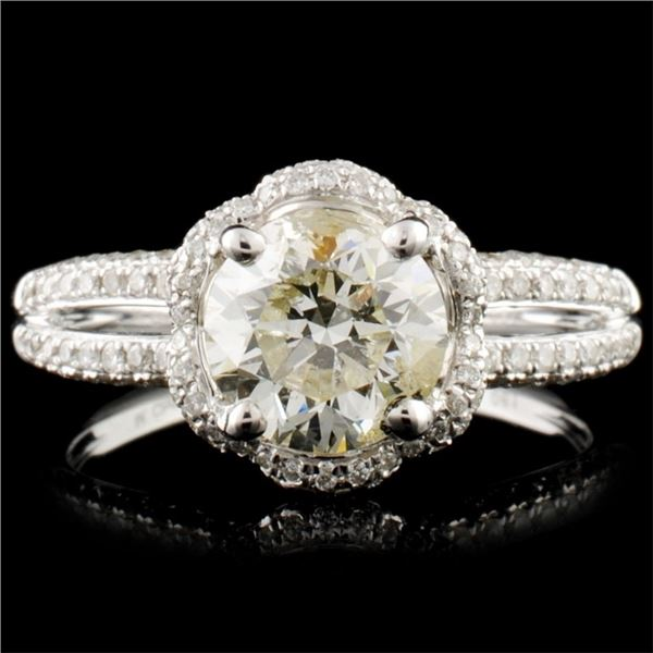 18K Gold 2.15ctw Diamond Ring