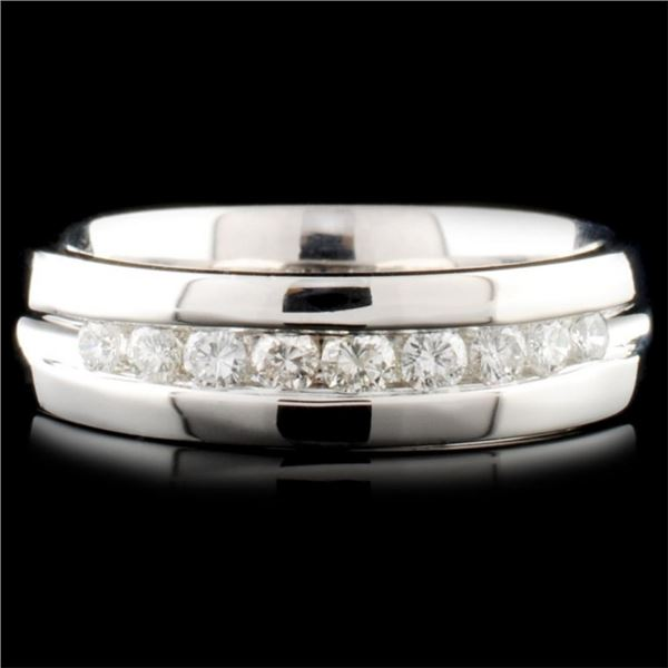 14K Gold 0.47ctw Diamond Ring