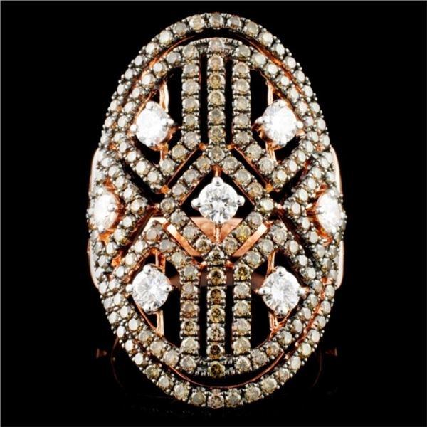 14K Gold 2.10ctw Diamond Ring