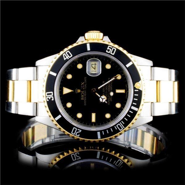 Rolex Two-Tone Submariner 40MM Wristwatch