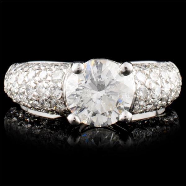 14K Gold 2.83ctw Diamond Ring