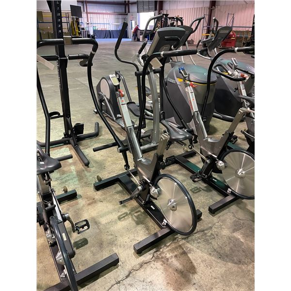 KEISER M3 TBT COMMERCIAL SPIN BIKE / CROSSTRAINER WITH DIGITAL READOUT
