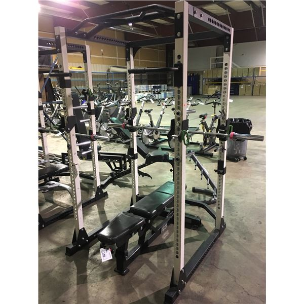 BLACK HAMMER STRENGTH MOBILE COMMERCIAL ADJUSTABLE WEIGHT BENCH