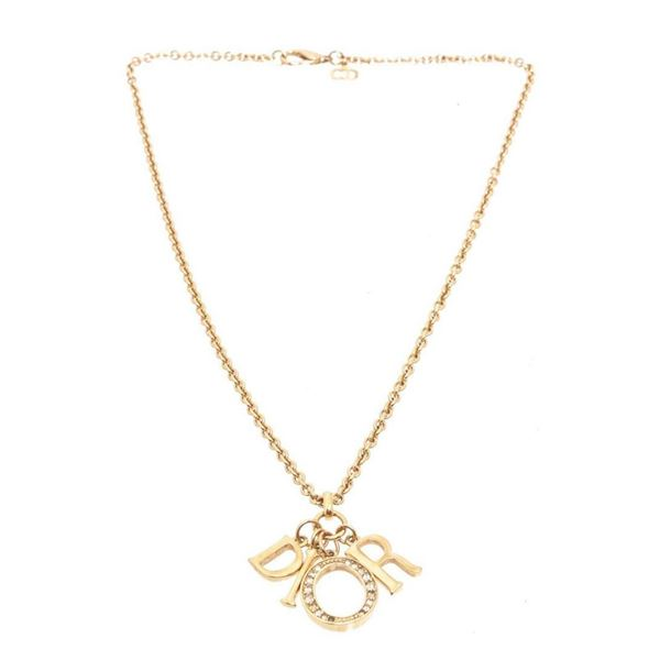 Christian Dior Gold Necklace