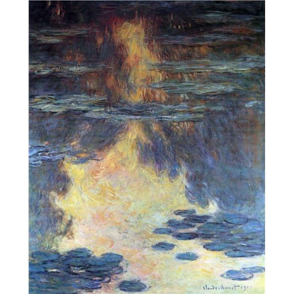 Claude Monet - Water Lilies, Water Landscape #2