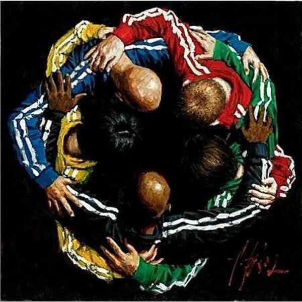 "Fabian Perez ""Five Continents One World HC"""