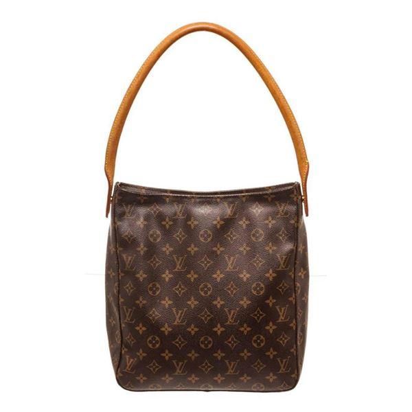 Louis Vuitton Brown Monogram Looping GM Shoulder Bag