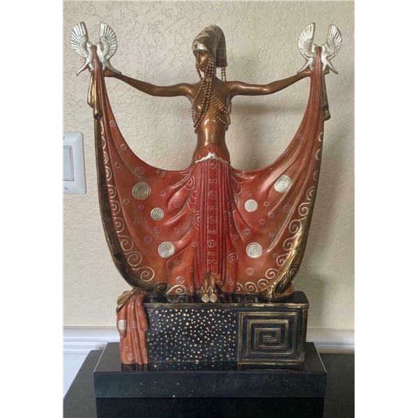 "Erte ""Venus"" Bronze Sculpture"