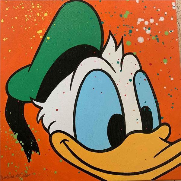 "Paulina Del Mar ""Donald Duck in Orange"""